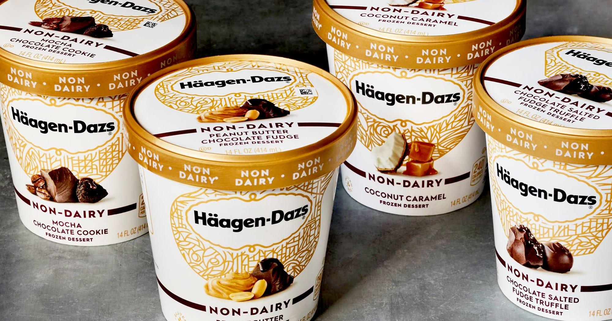 Haagen Dazs New Non Dairy Ice Cream Flavors