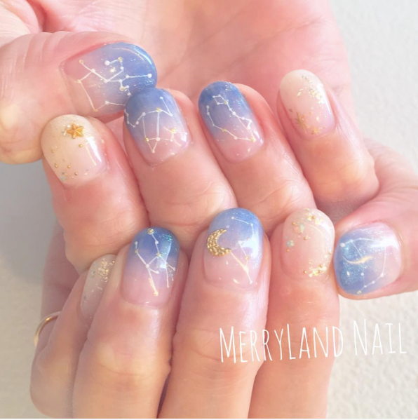 Manicure Trends Constellation Nail Polish