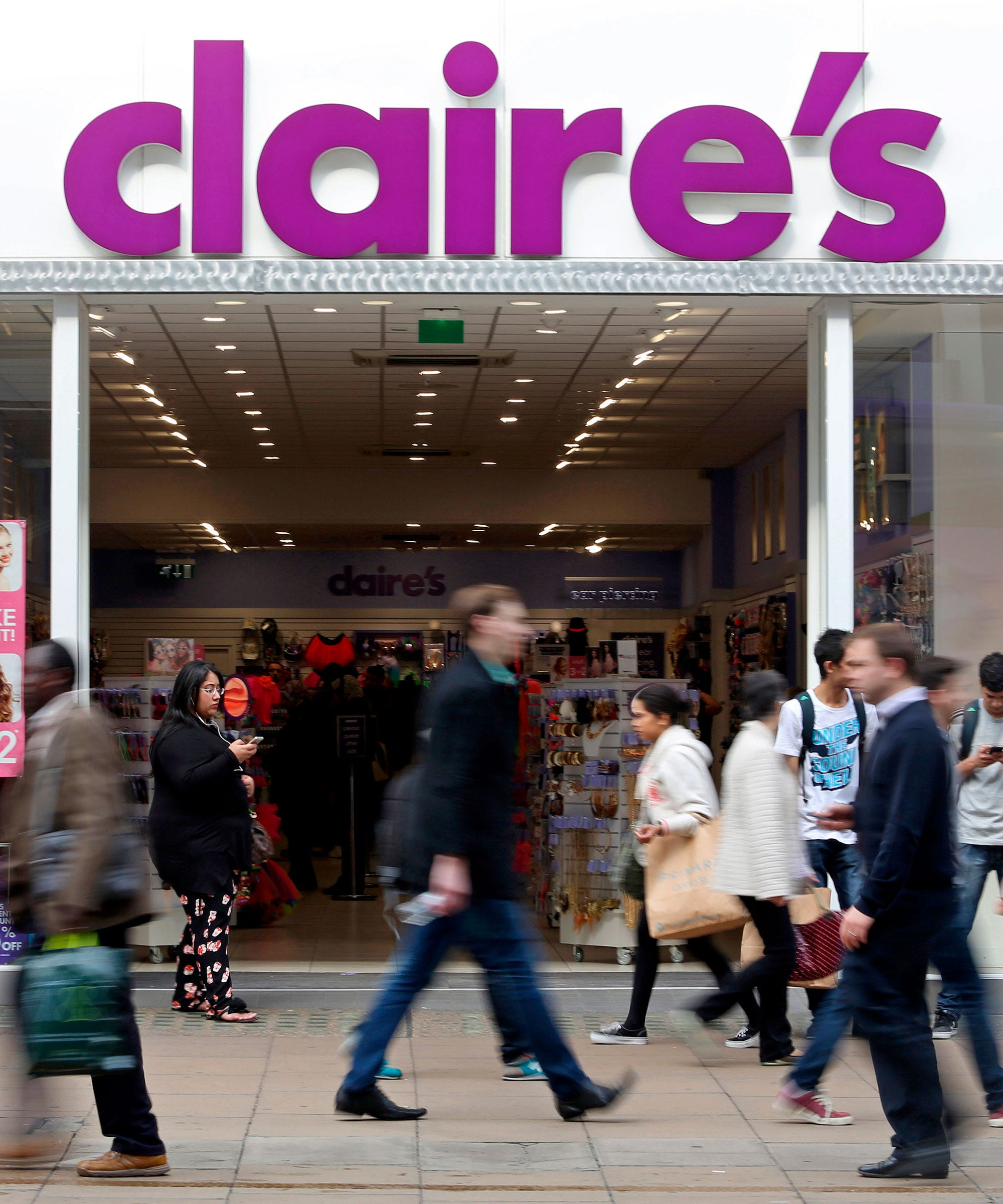 Why Claires Ear Piercing Policy Is Stirring Controversy