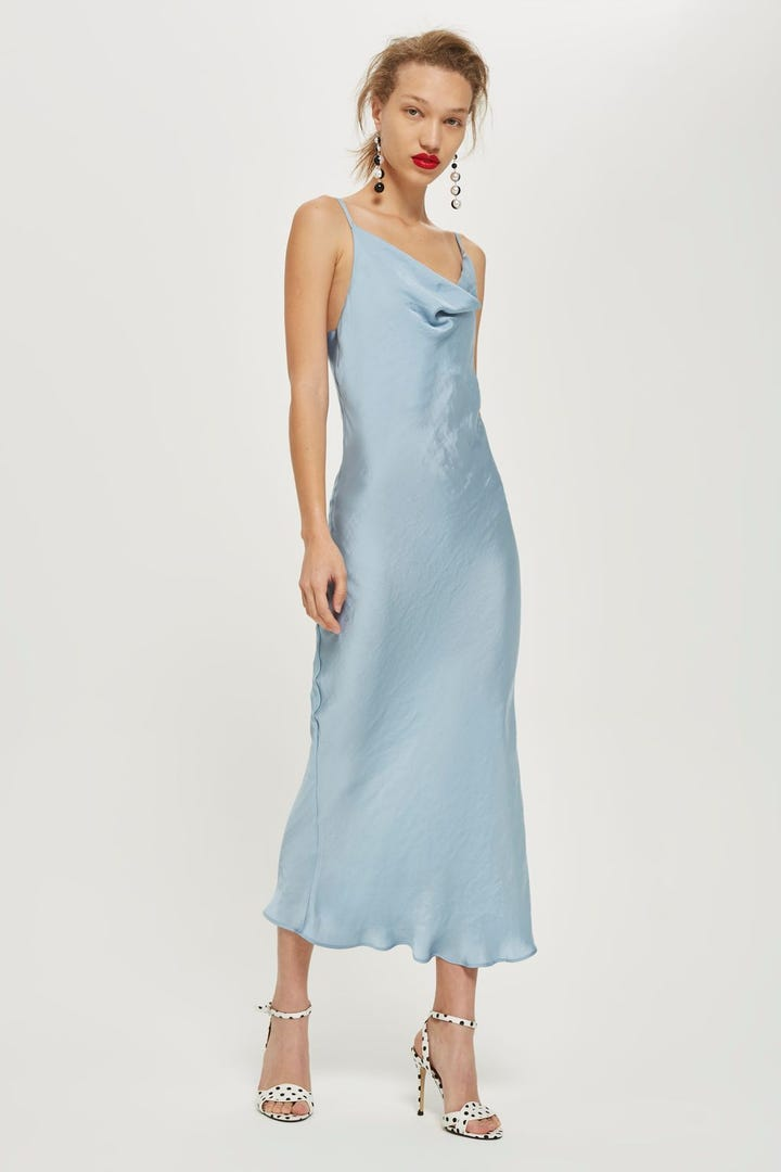 Best Slip Dress Style T Shirt Under Slip Dress Outfit