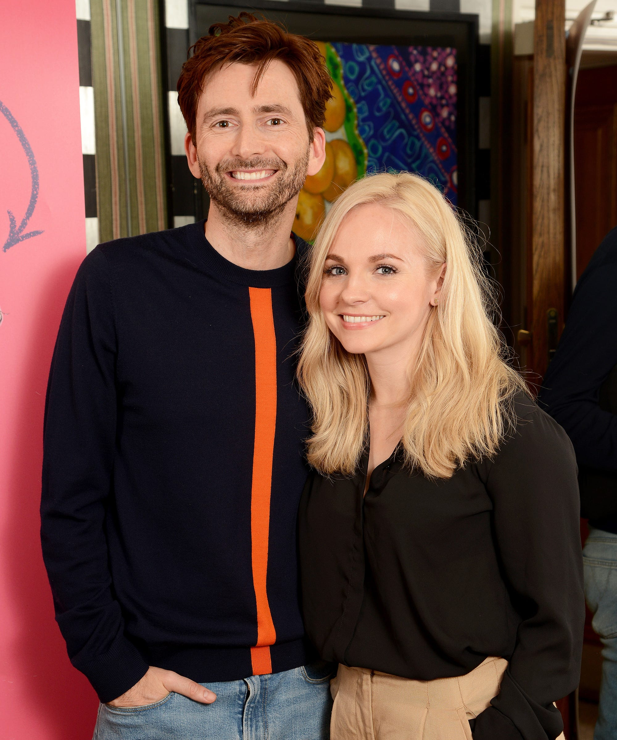 David Tennant & Georgia Moffett's Relationship Is Also Doctor Who History