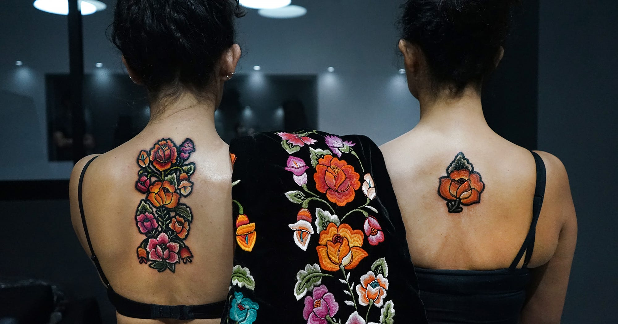 How These Embroidered Tattoo Designs Look So Real