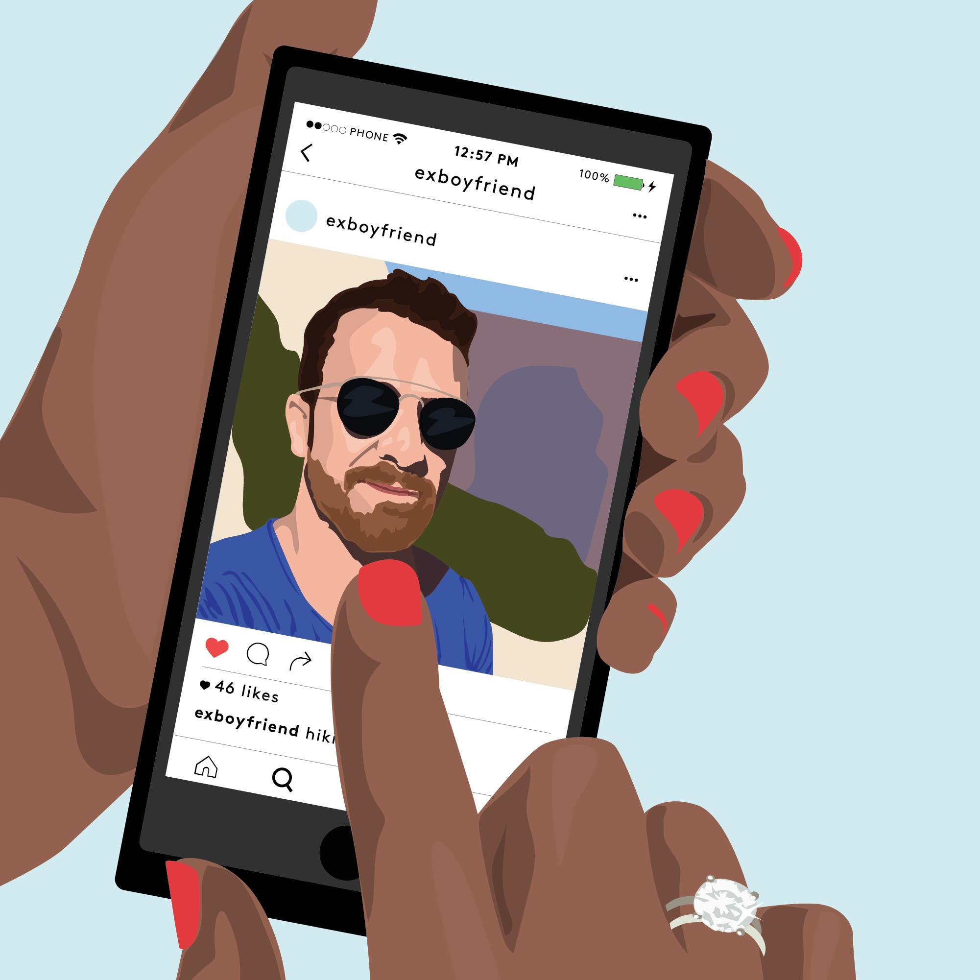 Rencontrer l'amour sur instagram et le suivre au bout du monde - Marie Claire