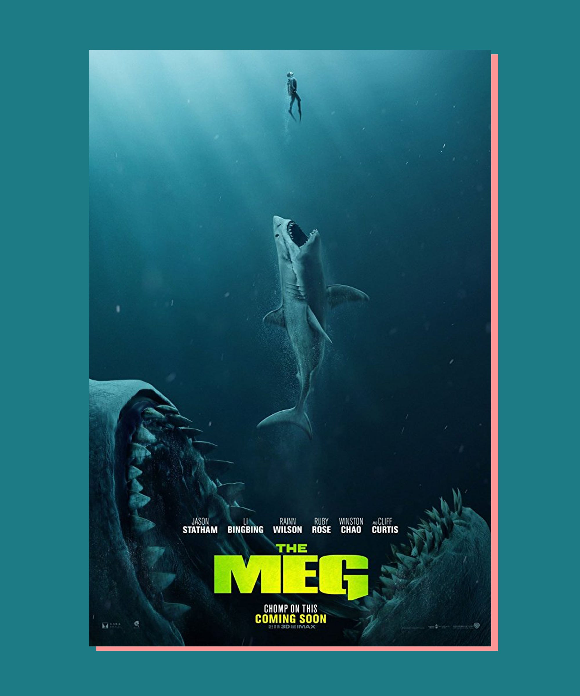 Jason Statham in The Meg 2018 The Meg t Megalodon