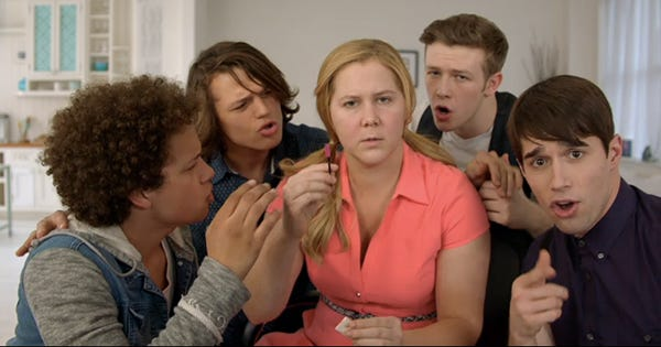 Girl You Dont Need Makeup by Inside Amy Schumer Cast on