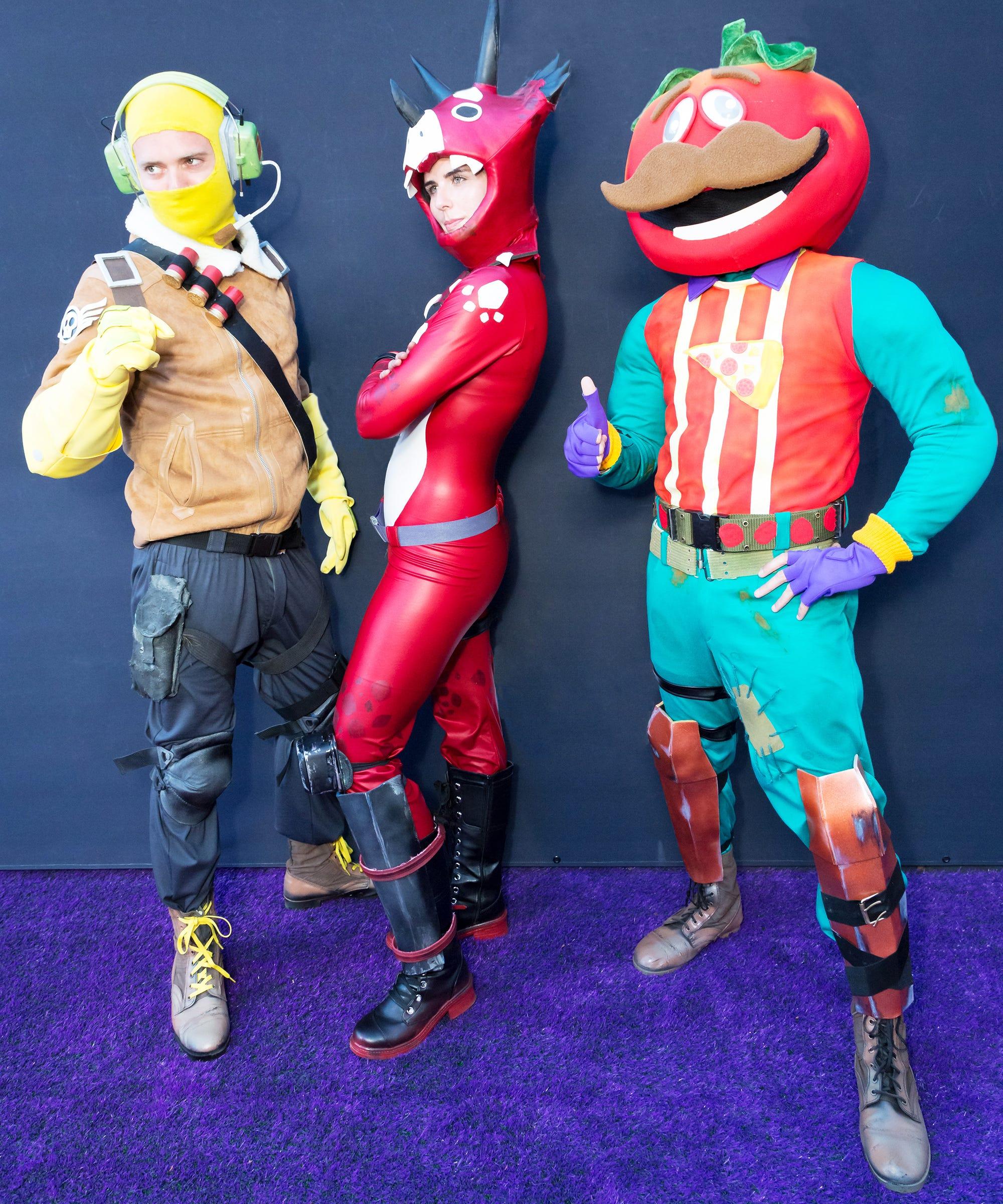 Halloween Fortnite Characters.Fortnite Character Dances To Learn For Halloween