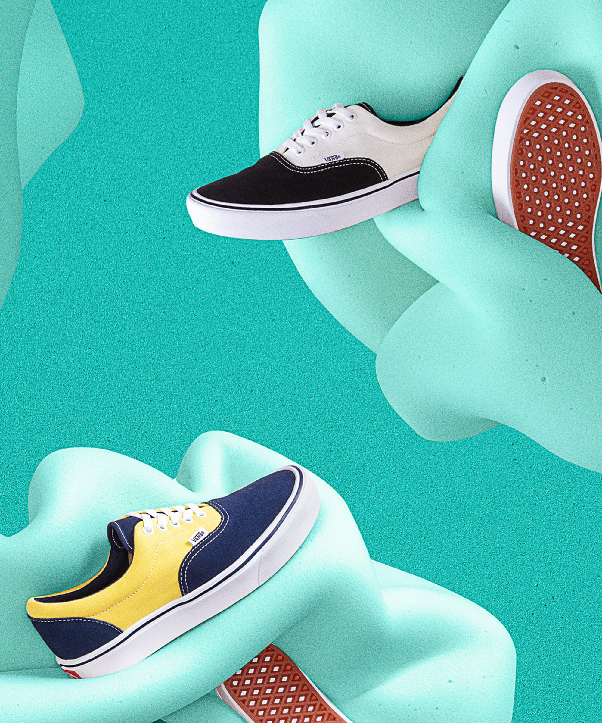 New Vans Comfy Cush Shoes Add Comfort To Classic Styles