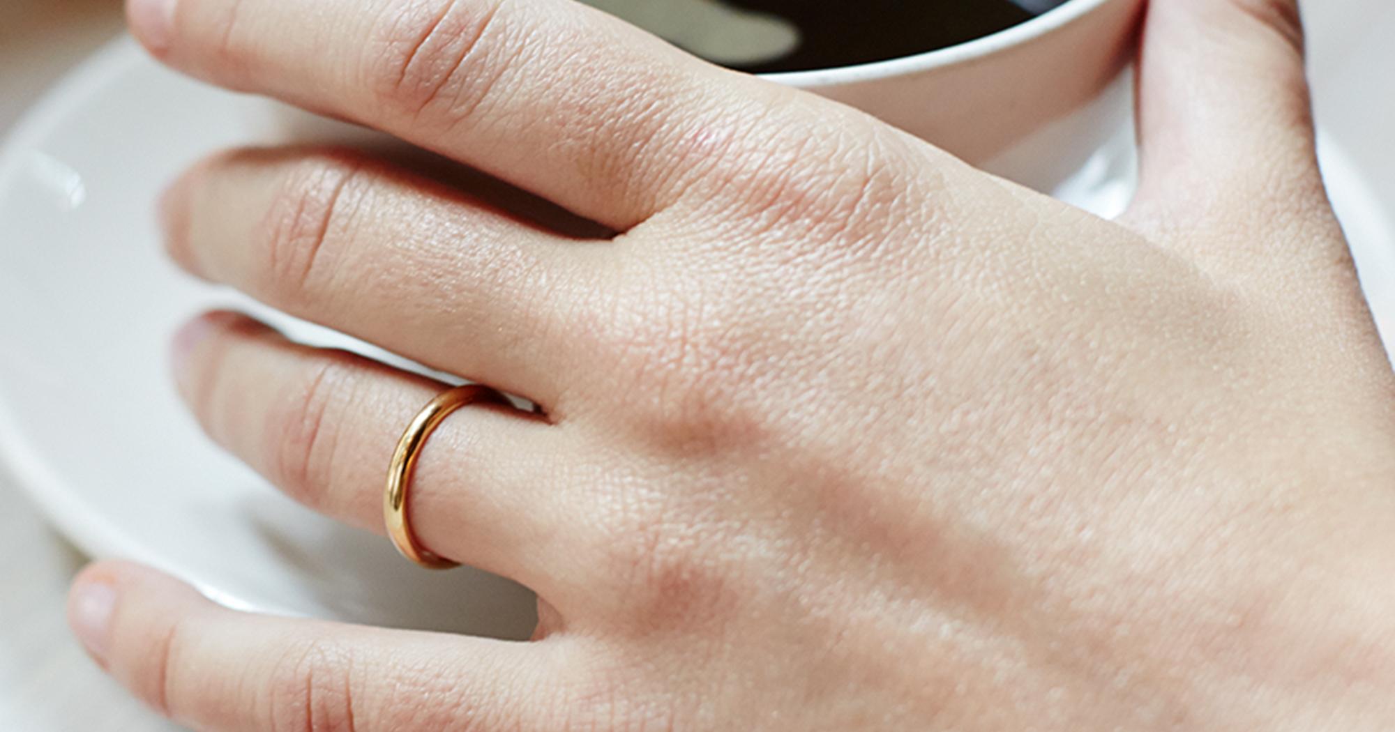 Ringfinger bedeutung linker spirituelle Ring