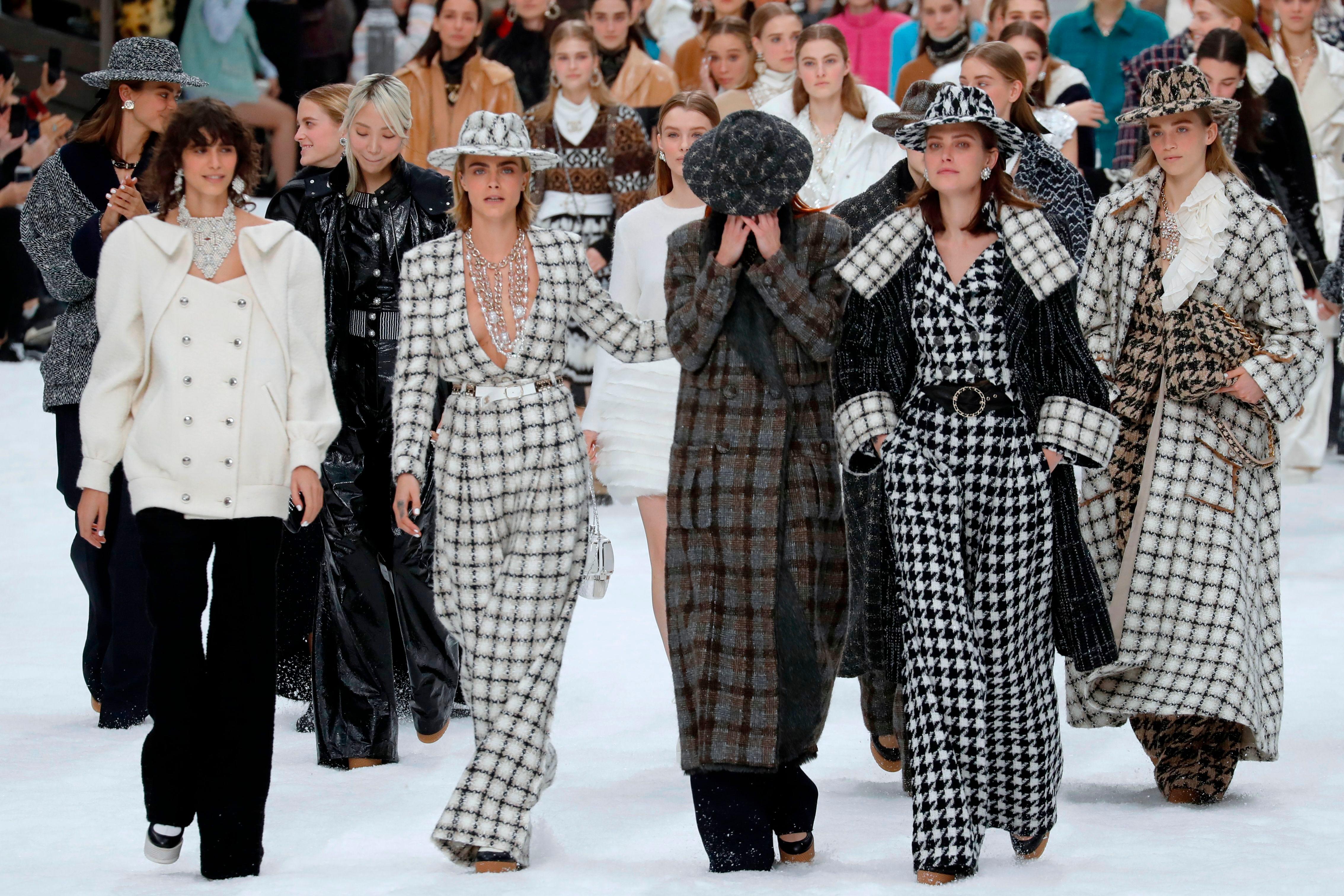 Karl Lagerfeld\u0027s Last Paris Fashion Show , Fall 2019