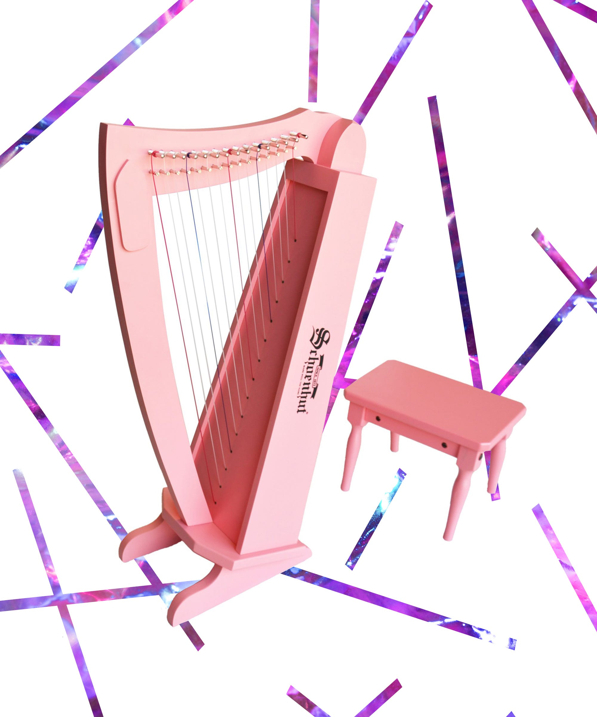Why Do So Many Celebrity Kids Have Schoenhut Toy Harps?