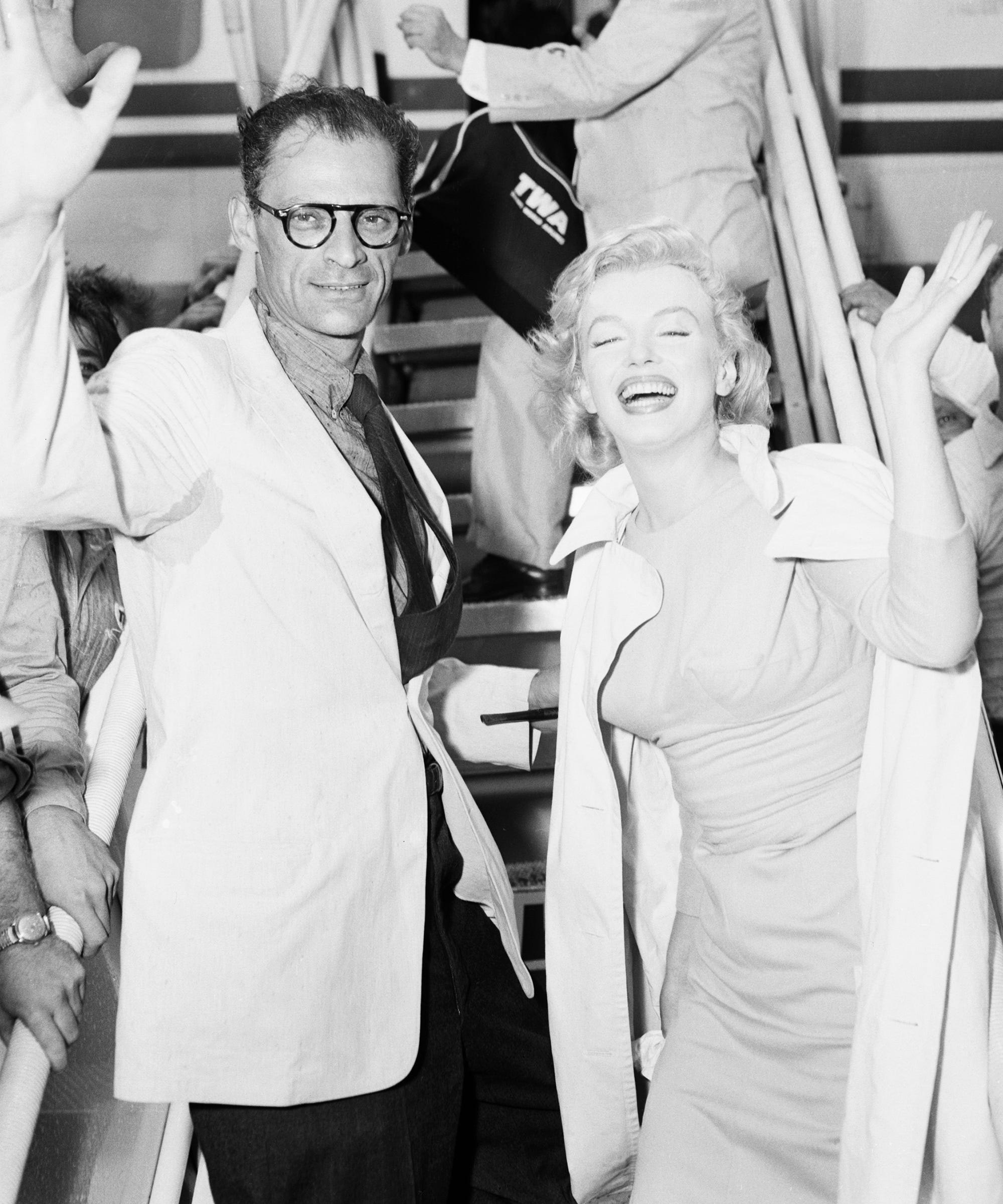Monroe arthur miller marilyn Arthur Miller,