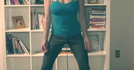 Secrets of vagina weight-lifting revealed.