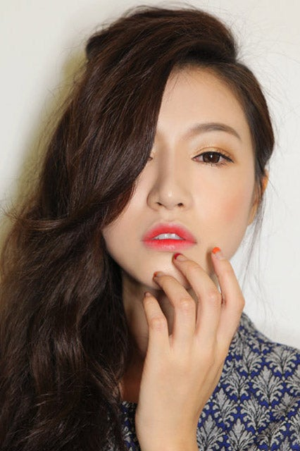 Korean Girls Lipstick Trend Gradient Lips