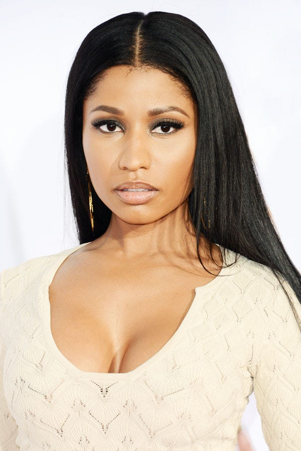 nicki minaj ends wigs � natural hair interview