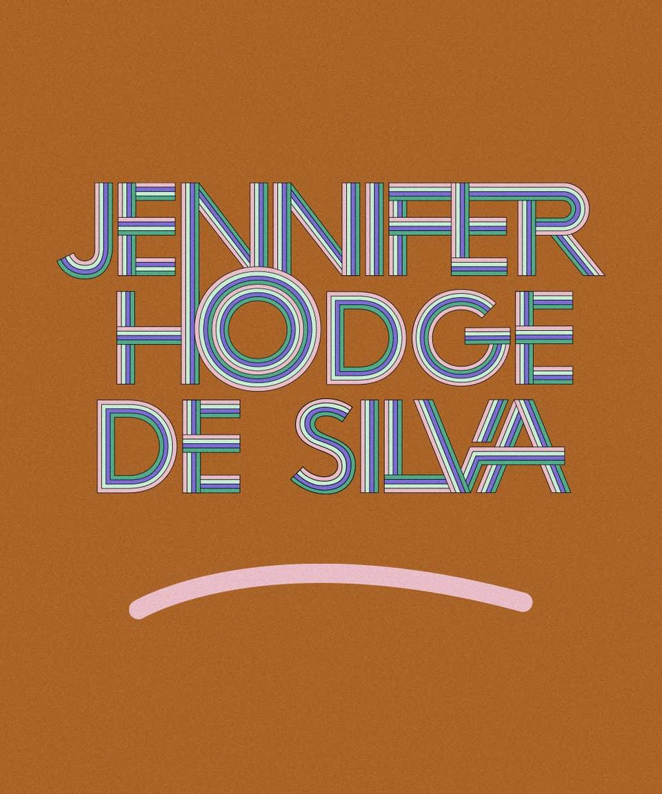 Graphic of the name Jennifer Hodge de Silva