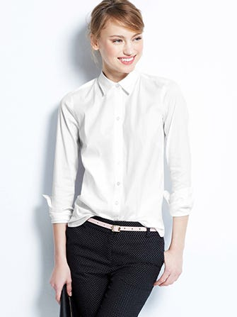 White button down shirts best oxford tops for White button down oxford shirt