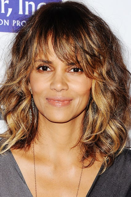 Curly Bangs Trend Pictures