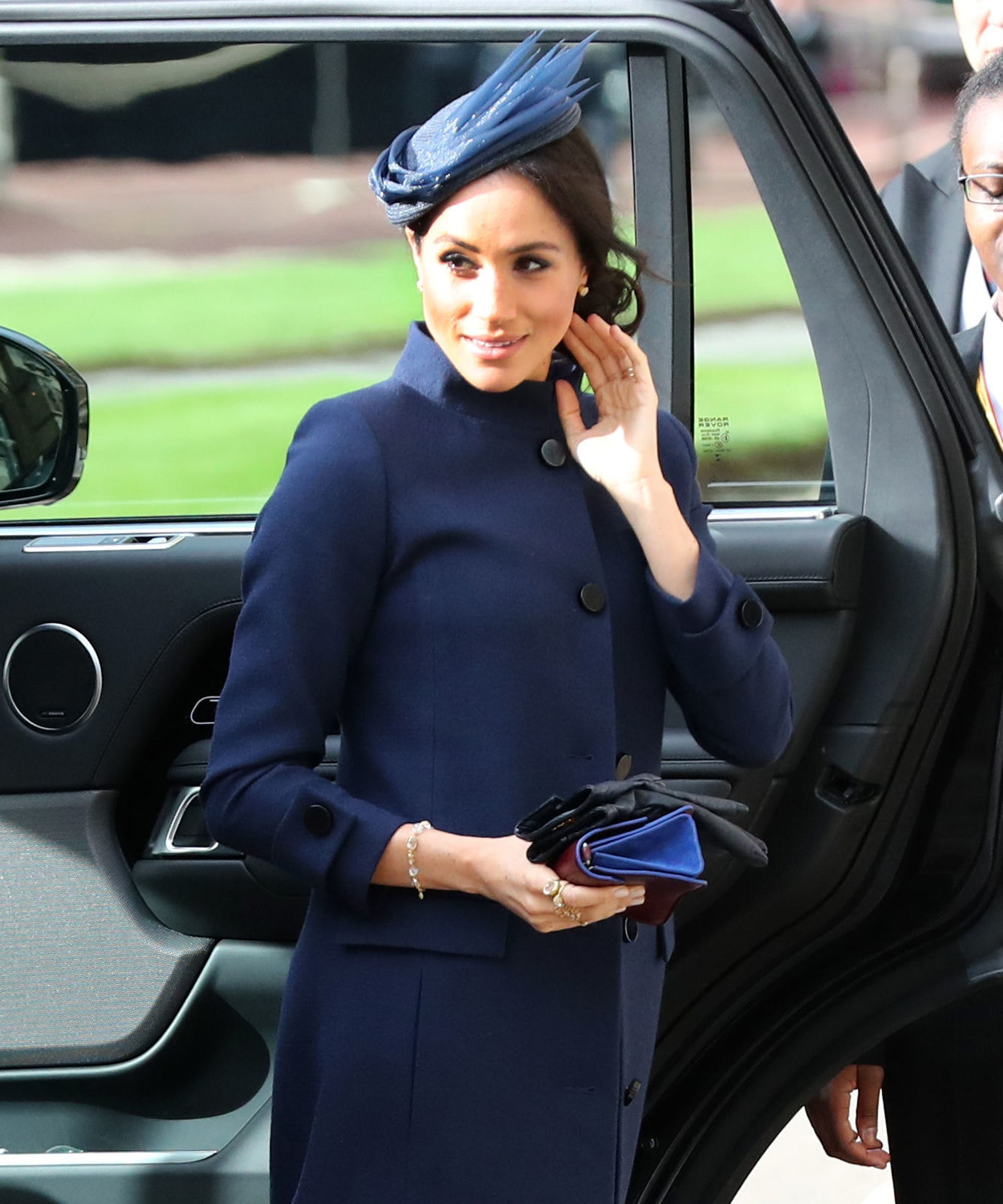 Meghan Markle Wore A Coat To The Wedding Which Means She Must Be Pregnant Right