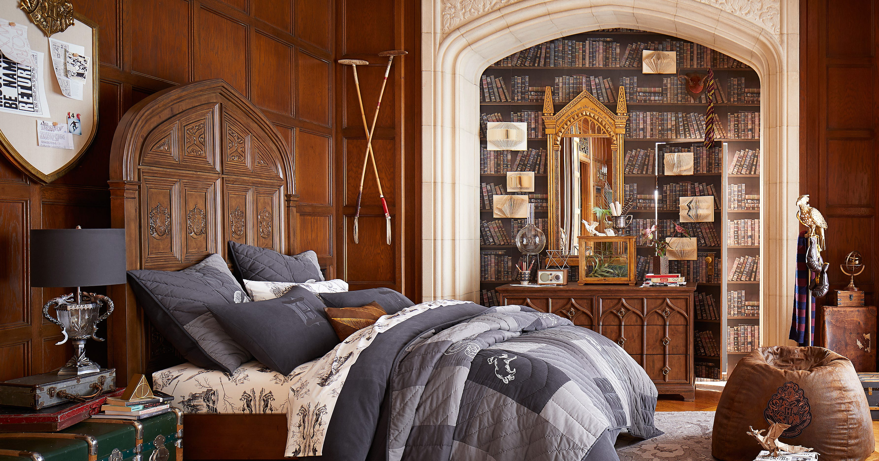 Pottery Barn Launches Harry Potter Decor For All Ages