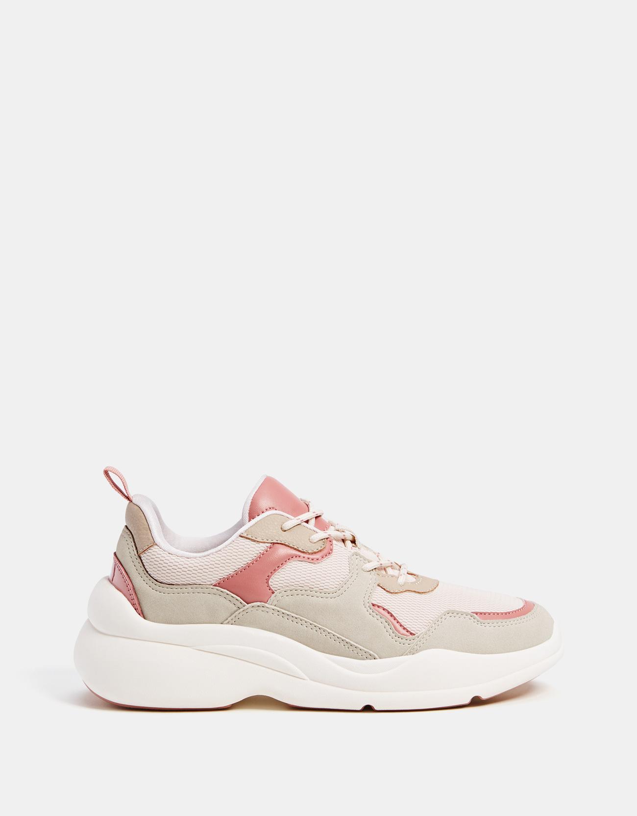 770adc06872c Bershka + Contrasting Platform Sneakers