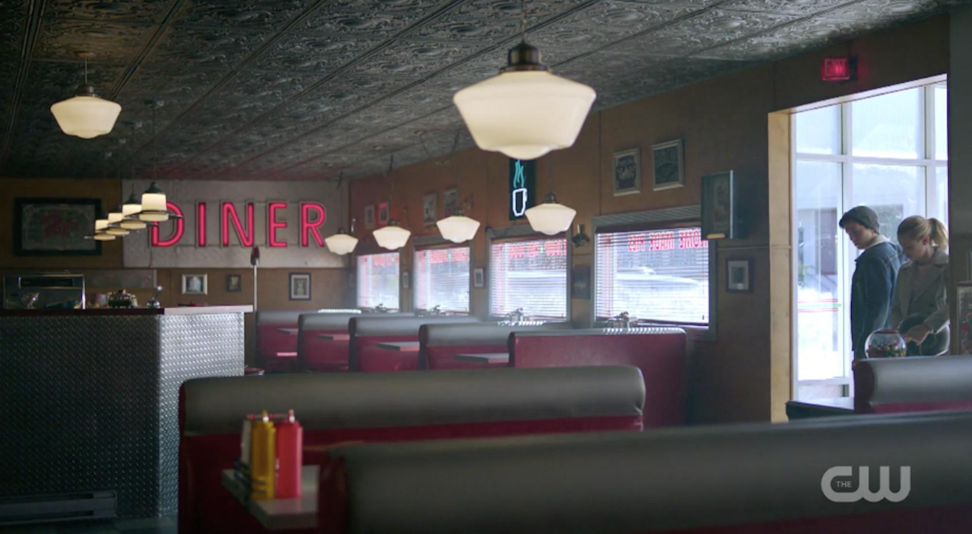 Riverdale Pops Diner Crime Scene Health Code Violation