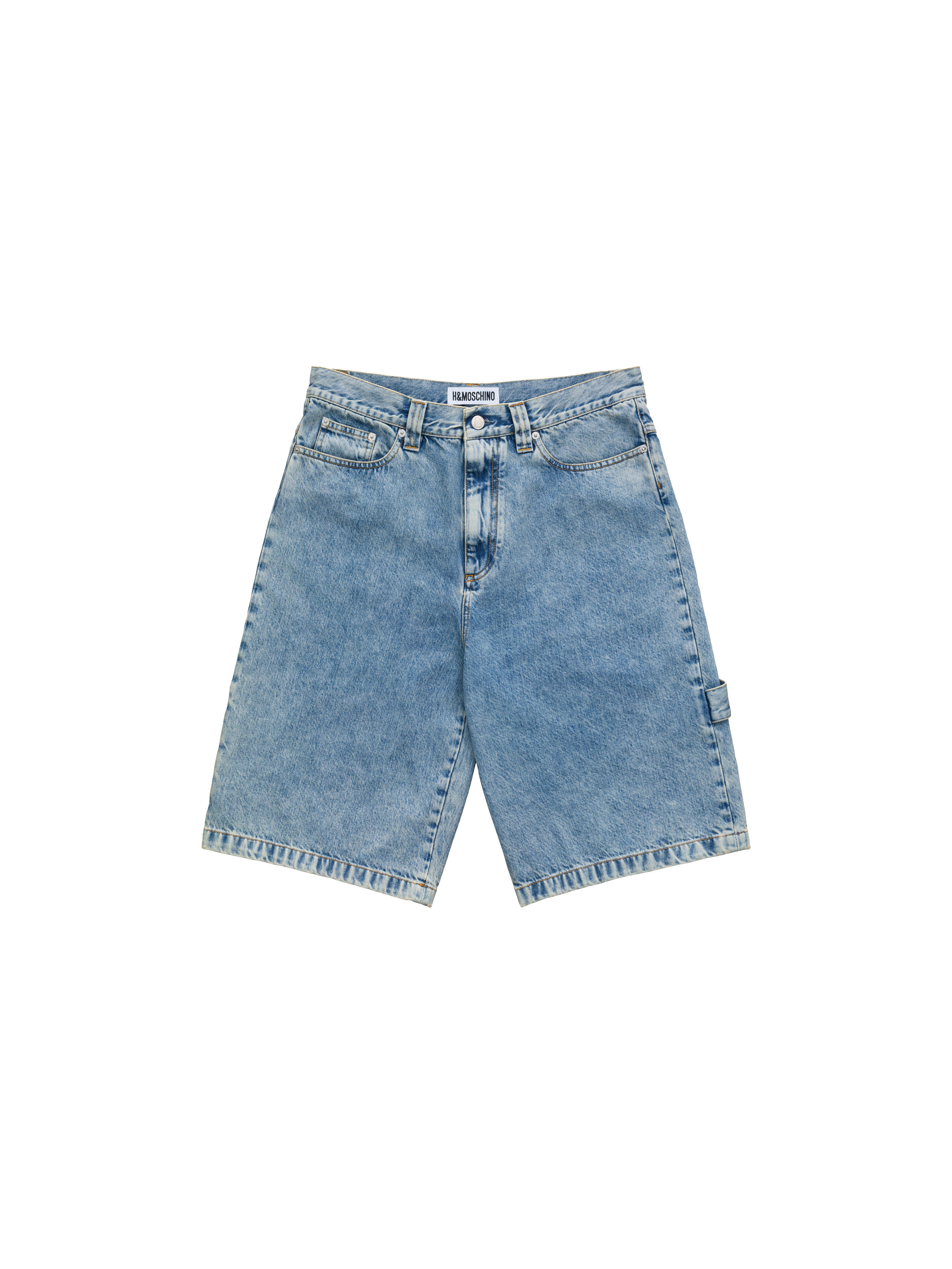 check-out 4d1f6 00cca Loose Fit Denim Shorts