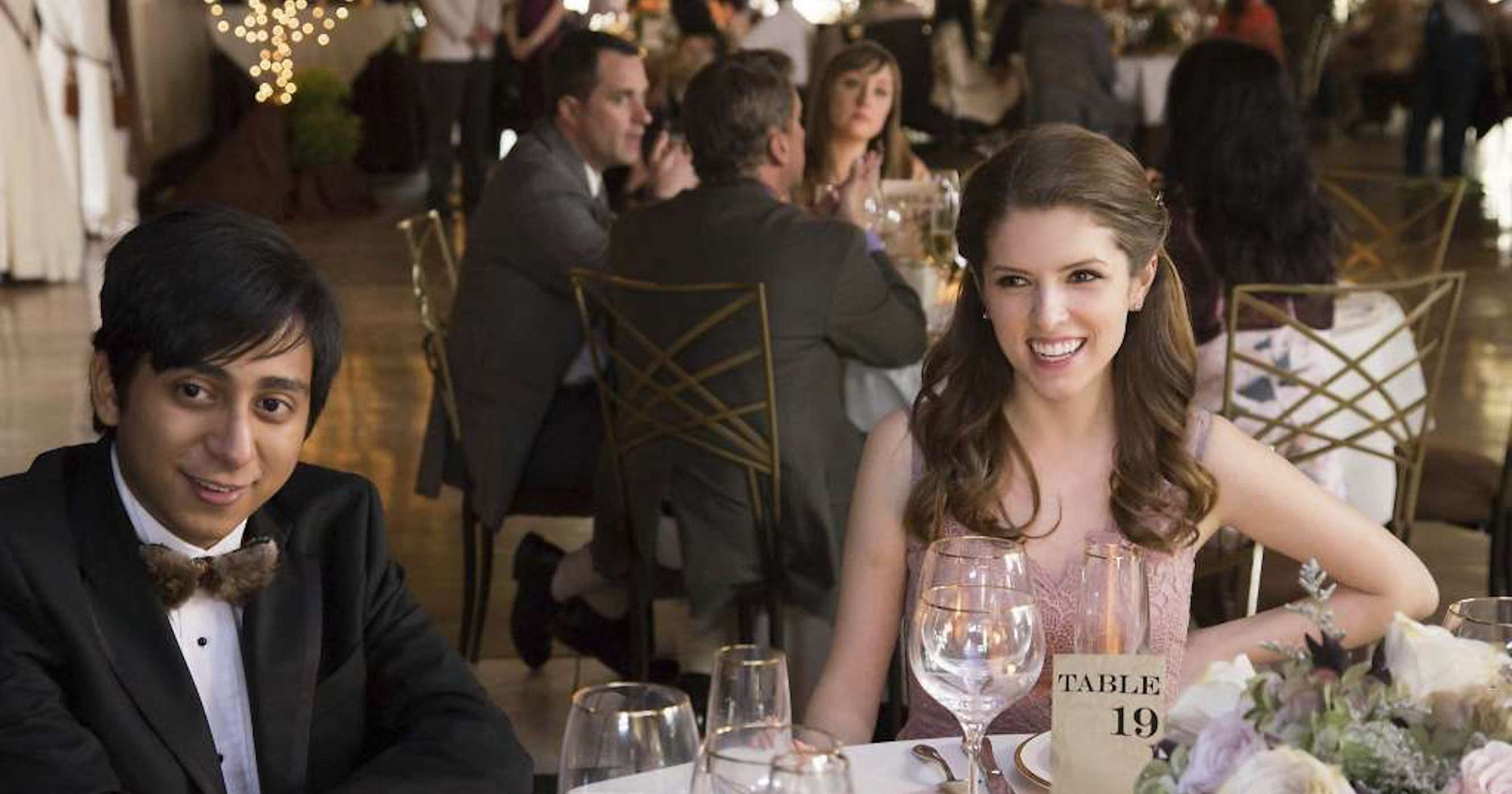 Table 19 movie review anna kendrick wedding rejects for Table 19 review