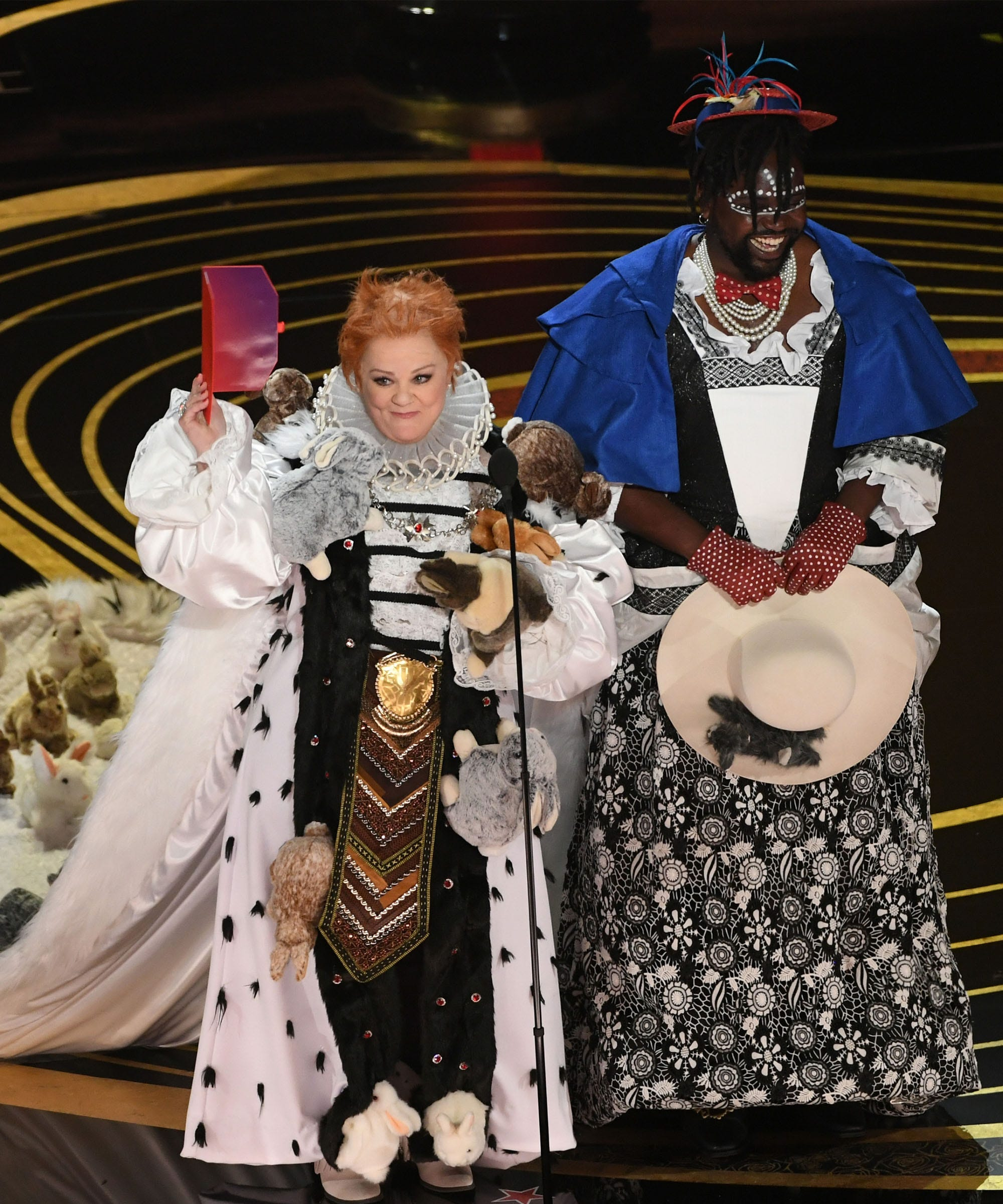 Melissa Mccarthy Made The Best Oscars Makeup Joke Ever