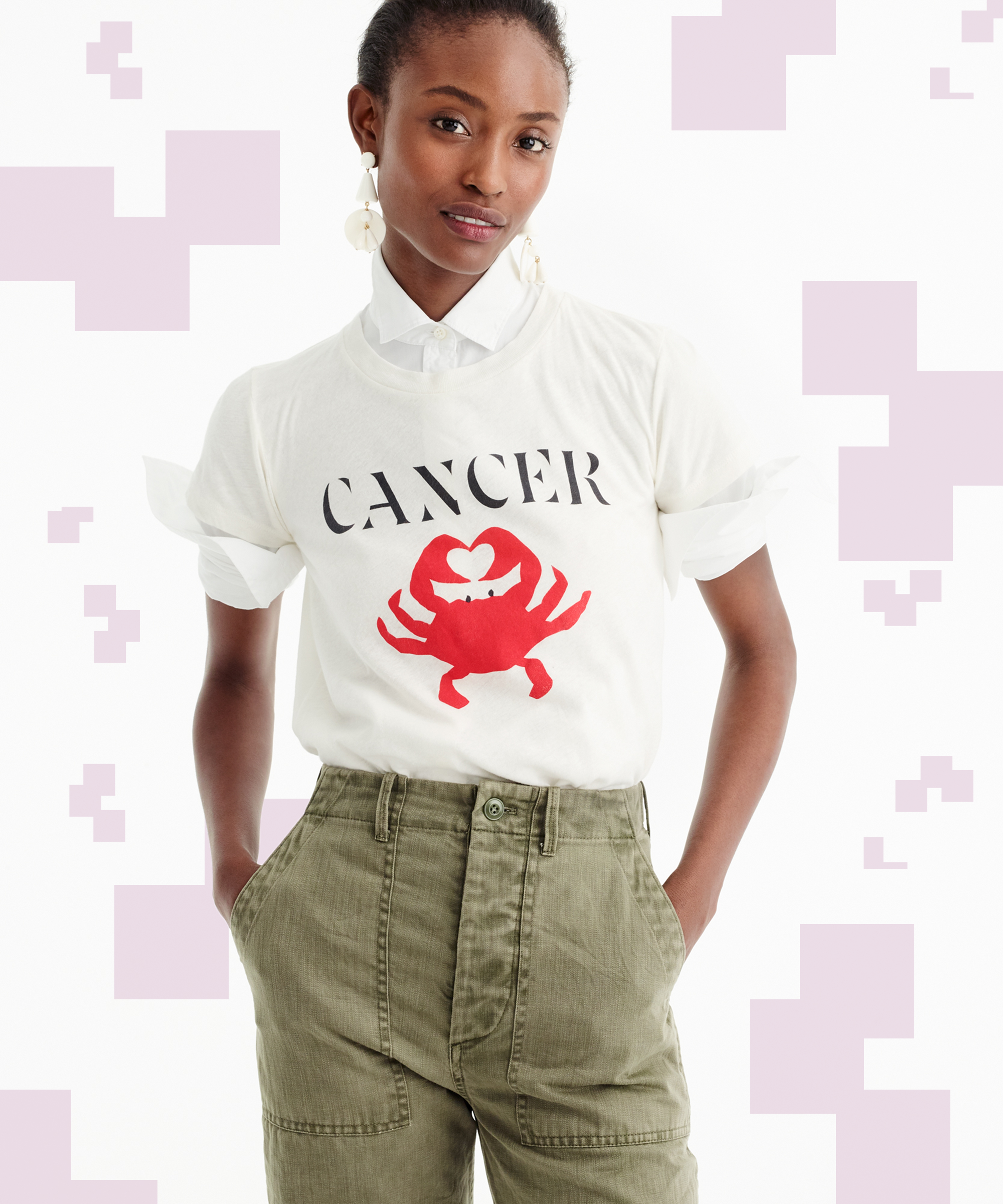 Wear Your Sign On Your Sleeve With J.Crew's New Horoscope Collection