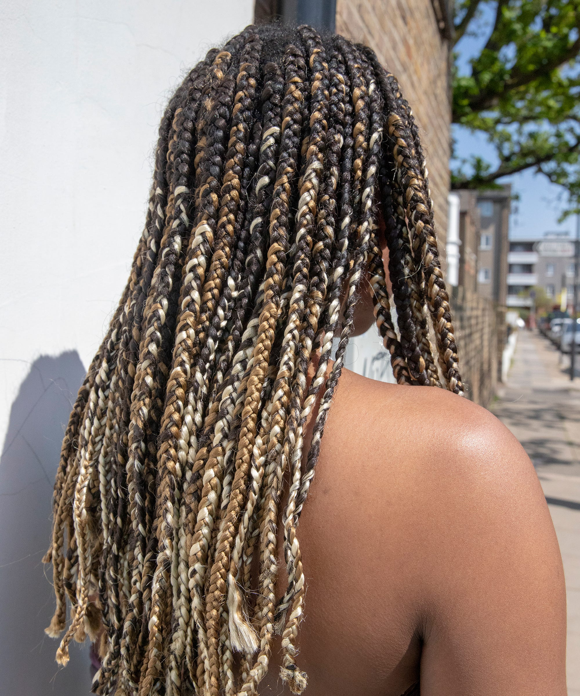 Hitting The Pool This Weekend? Here's How To Stop Your Braids From Getting Frizzy
