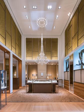 Cartier Pop Up Shop Nyc Jewelry Store Manhattan