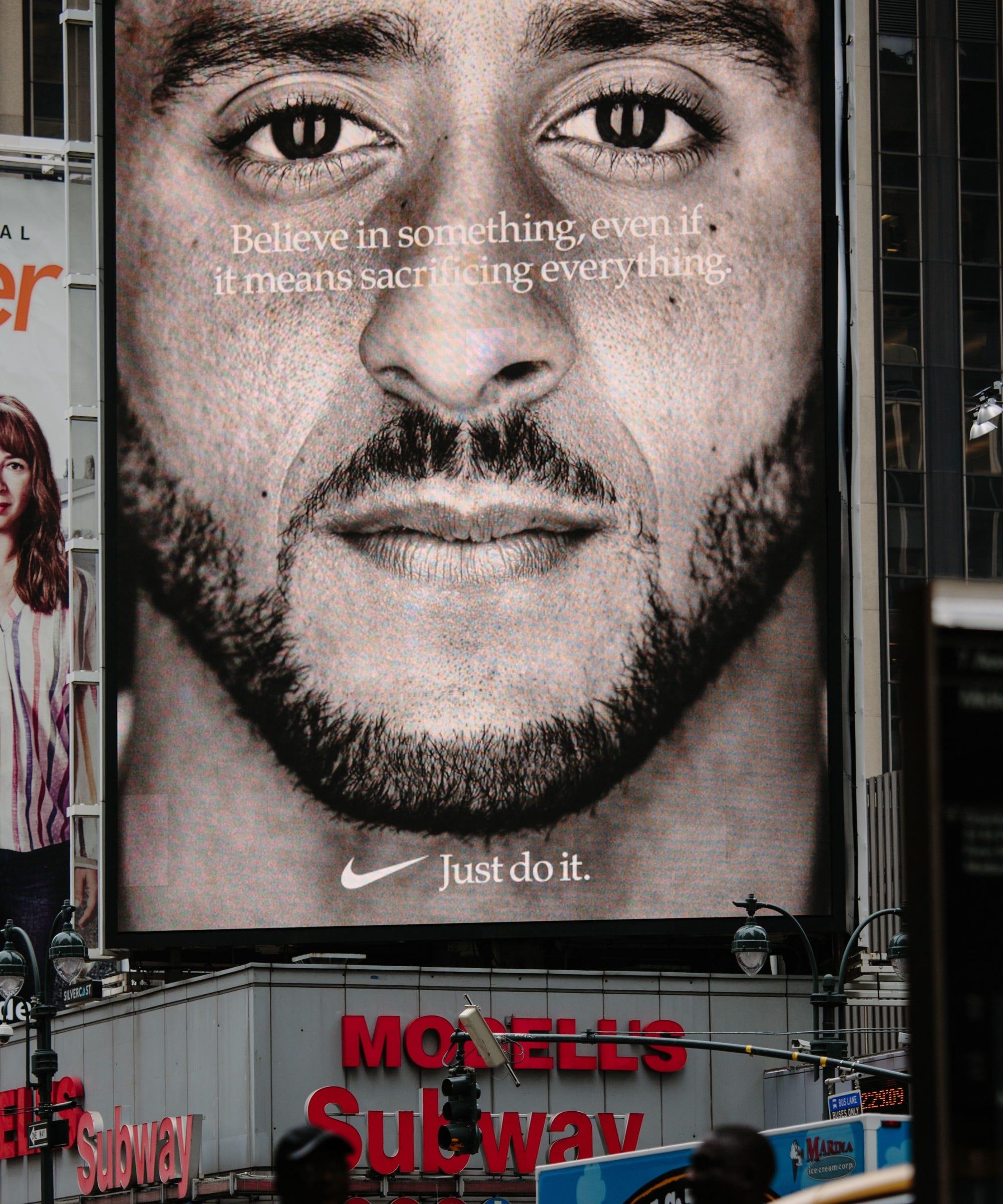Nike Colin Kaepernick Ad Caused Sales Increase