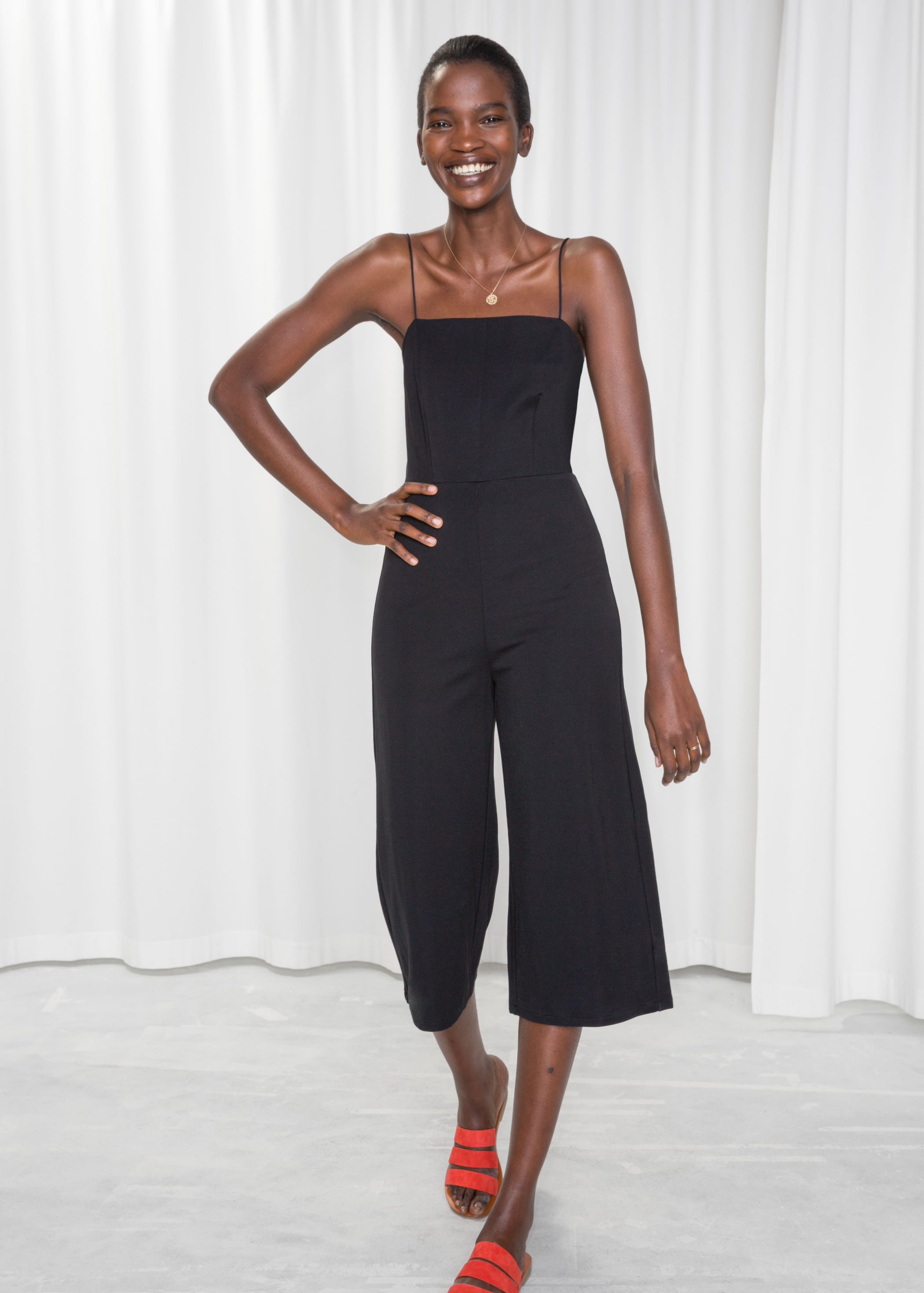 new product finest fabrics latest selection of 2019 Back Tie Jumpsuit