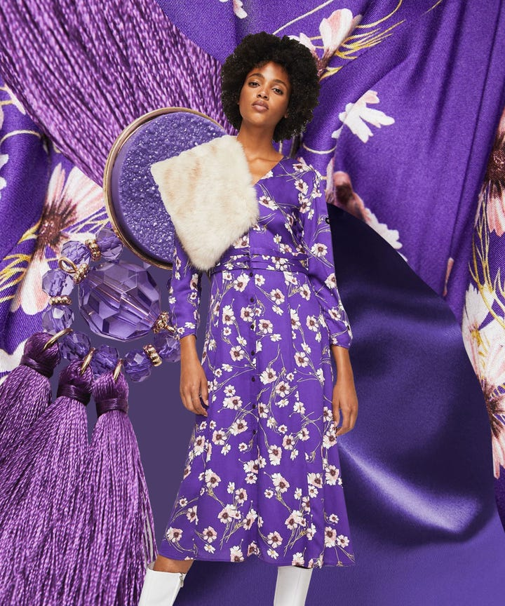 Pantone Color Of The Year 2018 Ultra Violet Fashion