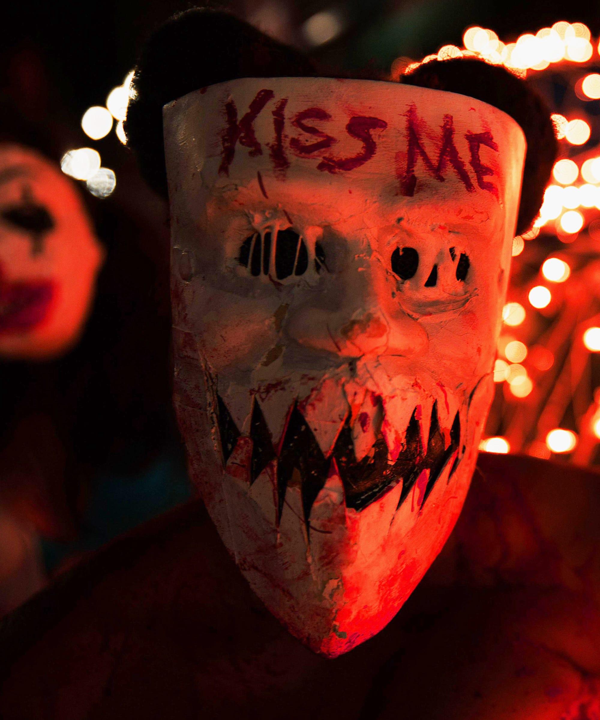 The Purge Halloween Costume Ideas, Candy Girl, Masks