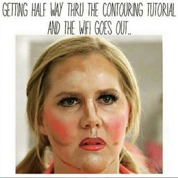 Funny Beauty Memes Online Makeup Pictures