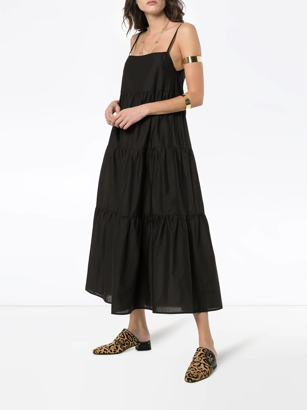 9a2ea3792c2 Matteau + Long Tiered Cotton Sundress