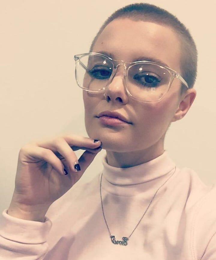 Women Shaved Head Stories
