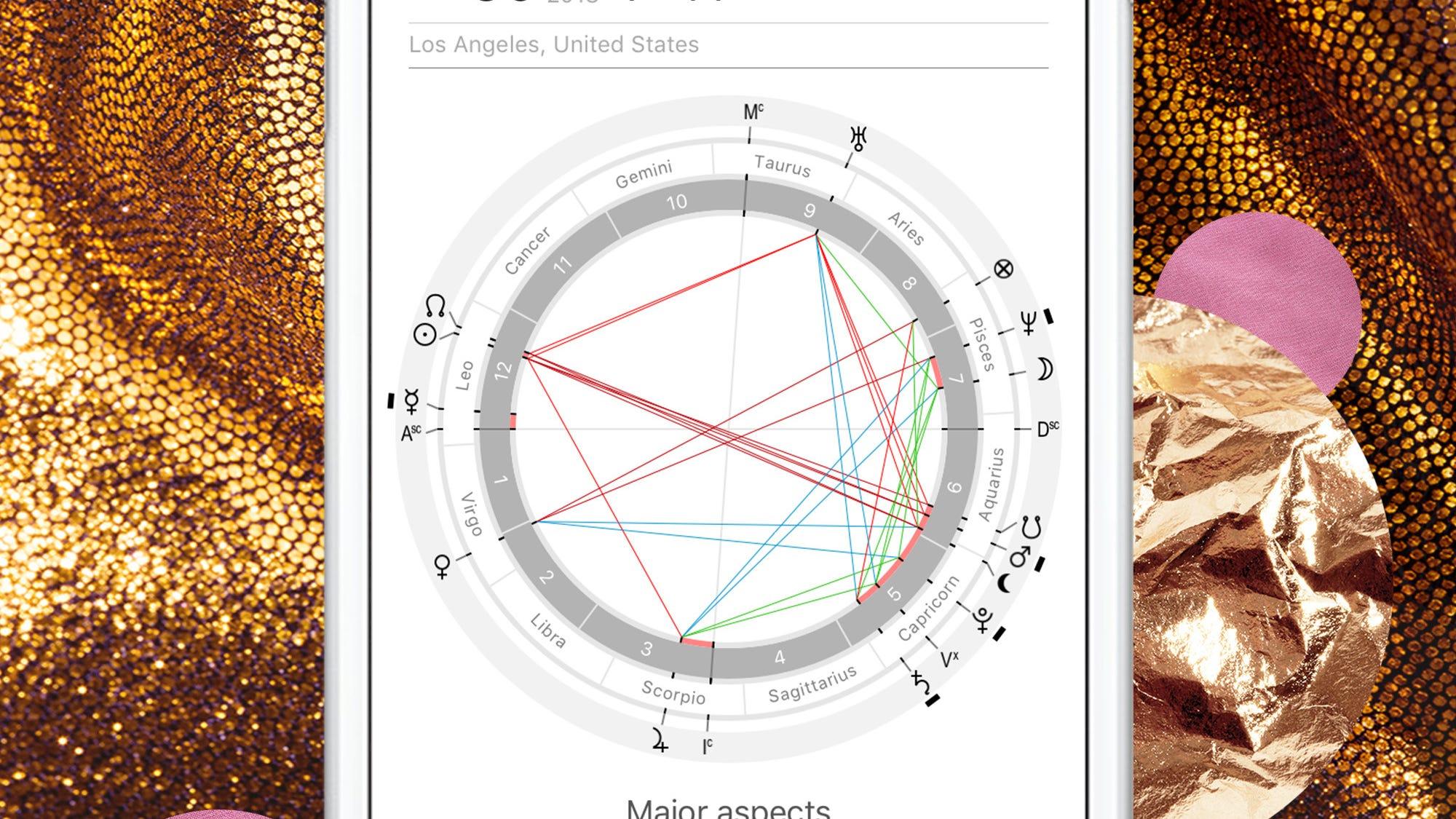 Die besten Apps für Astrologie Fans