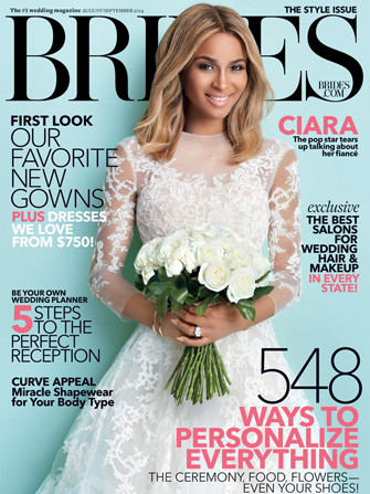 Photo Courtesy Of Brides Magazine