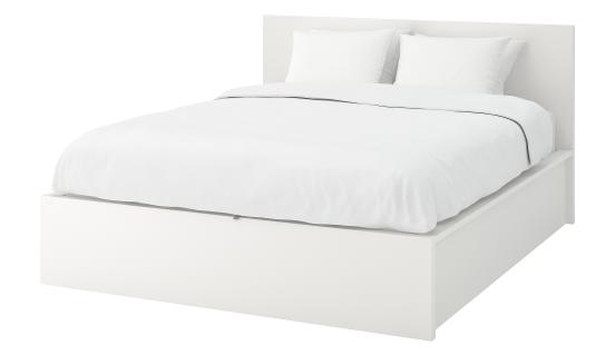 Terrific Malm Storage Bed Customarchery Wood Chair Design Ideas Customarcherynet