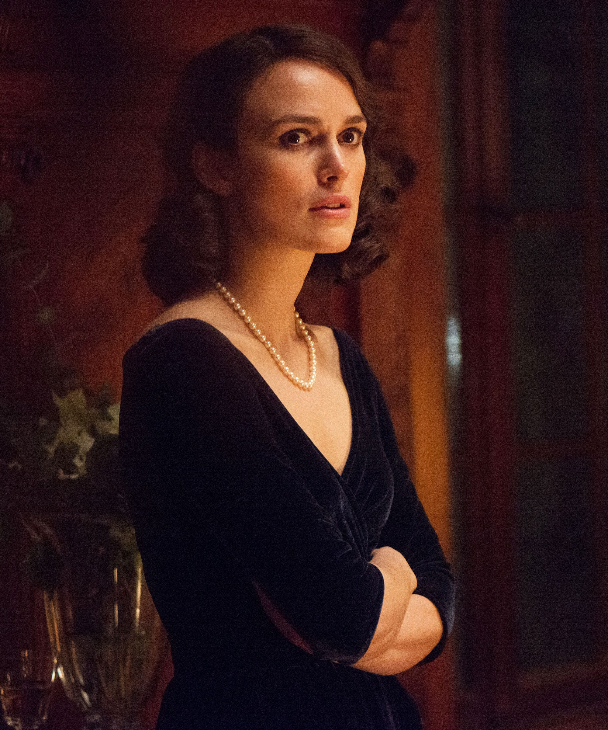 Keira Knightley on acting in the Aftermath of motherhood