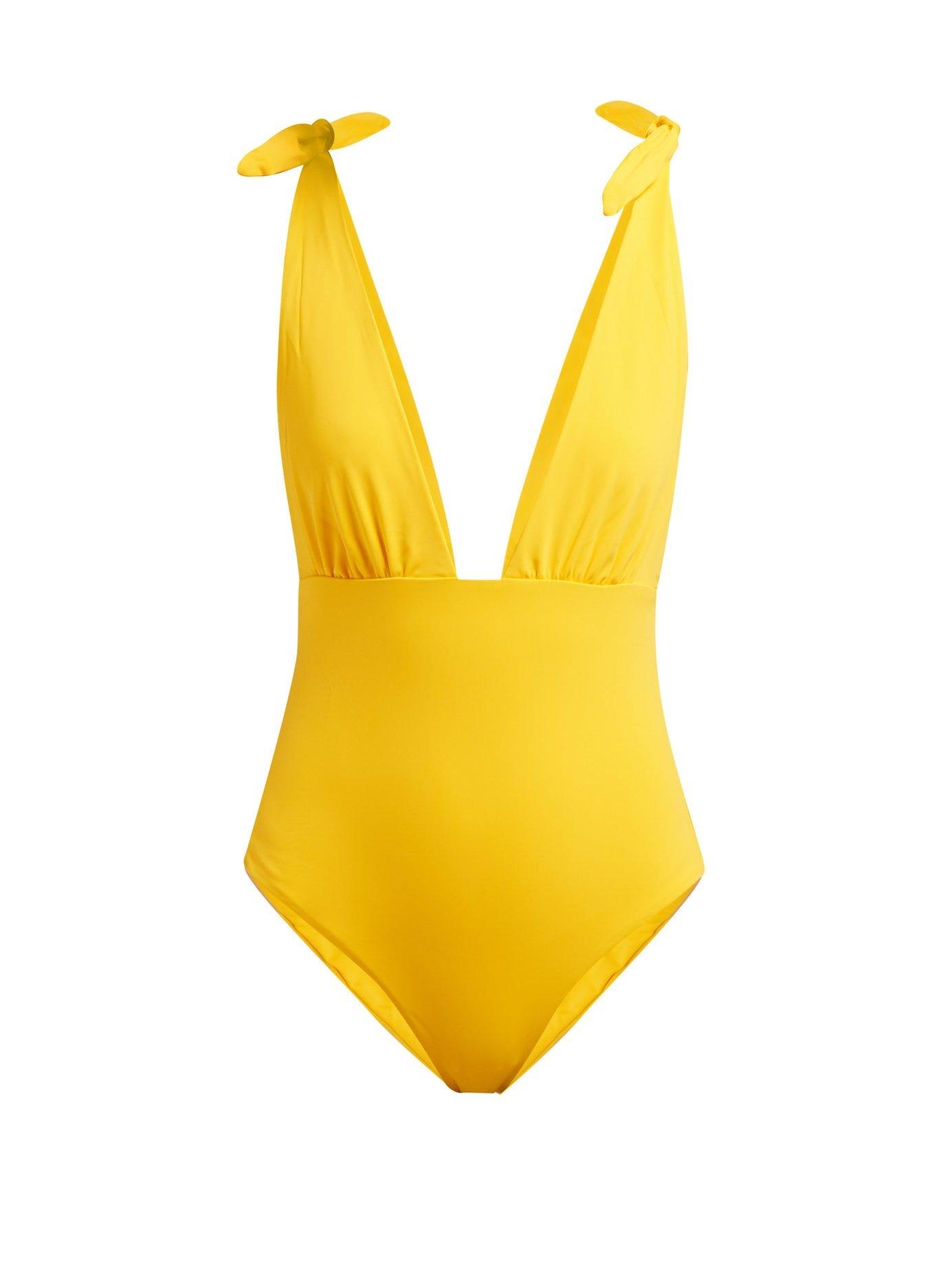 Daphne Deep V-Neck Swimsuit