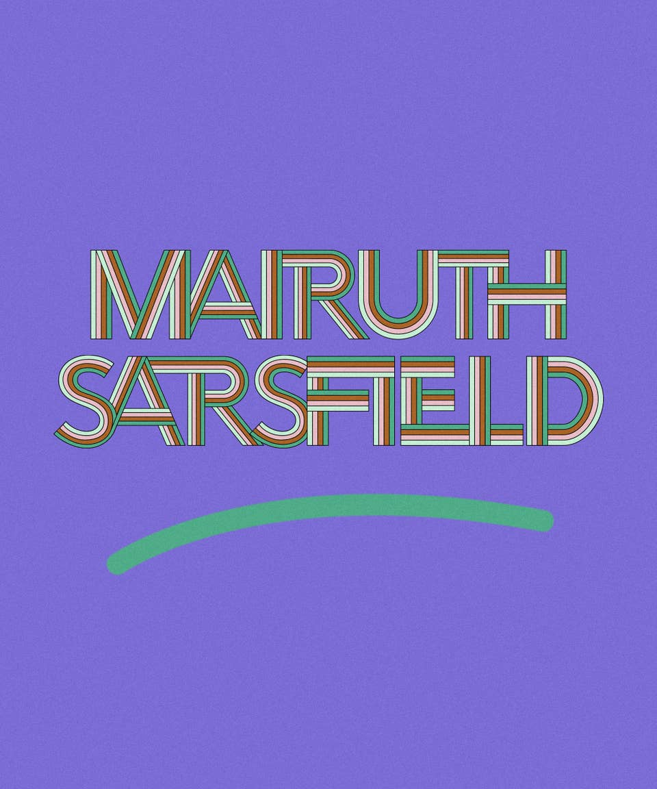 Graphic of the name Mairuth Sarsfield
