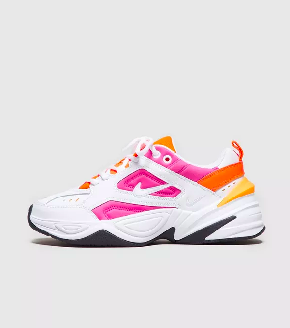 Nike + White And Pink M2K Tekno Trainers