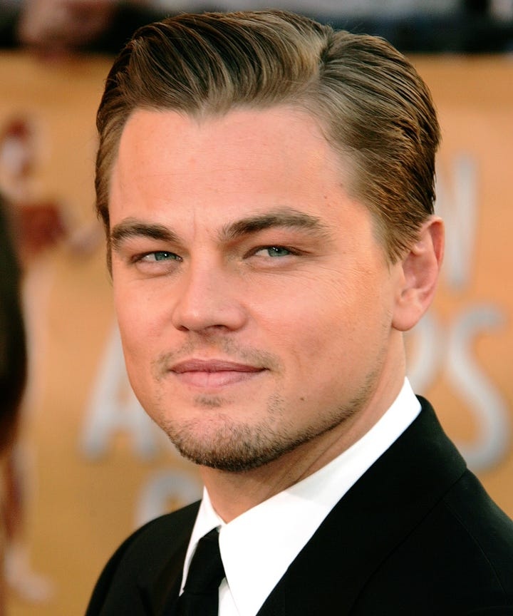 how to style your hair like leonardo dicaprio black white 4943