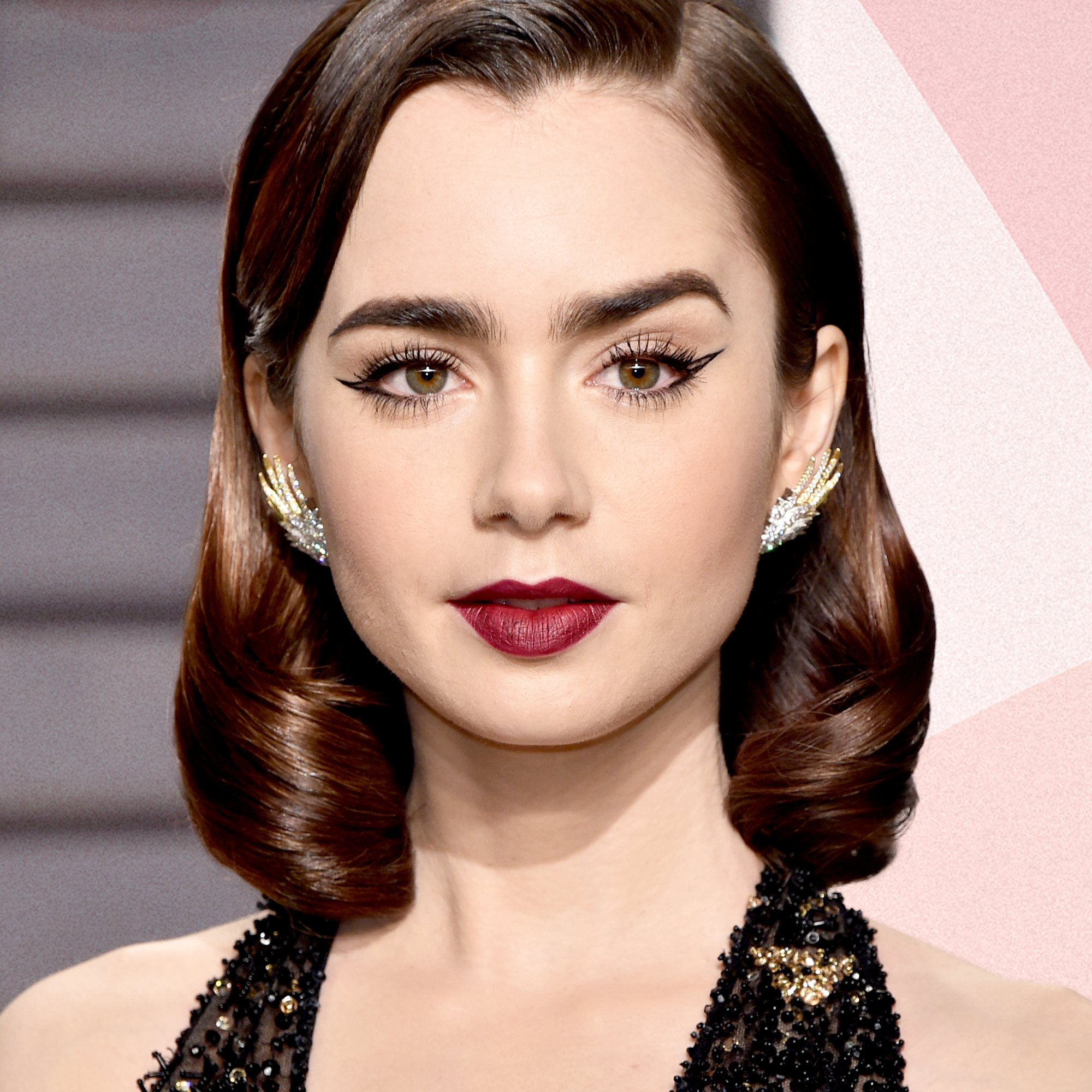 Lily Collins Hair Makeup Styles Fresh