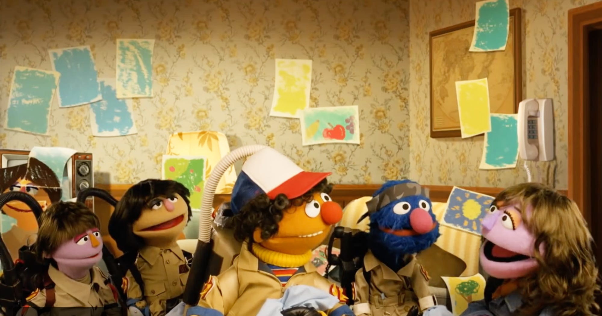 Of Course, Sesame Street Has The Perfect Stranger Things Parody