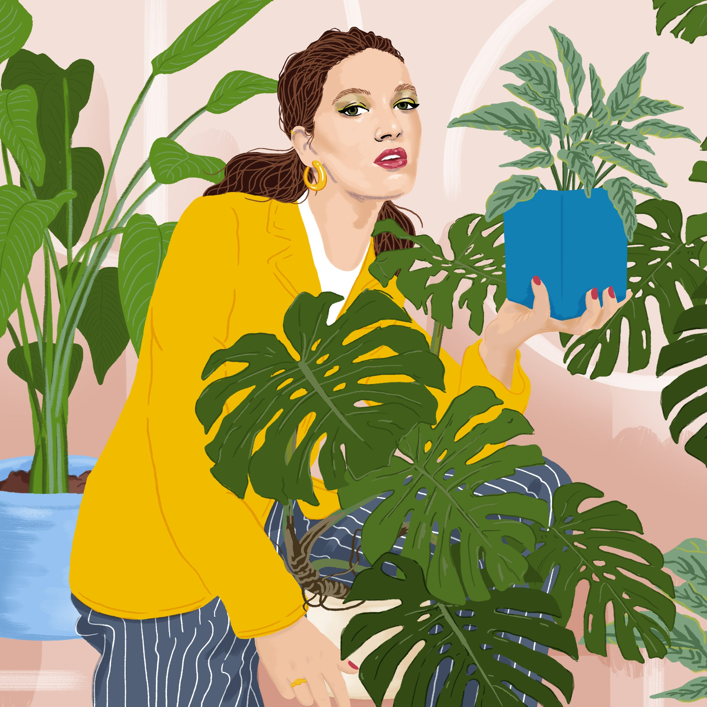 Plant Decorating Obsession & Rise Of The New Plant Lady