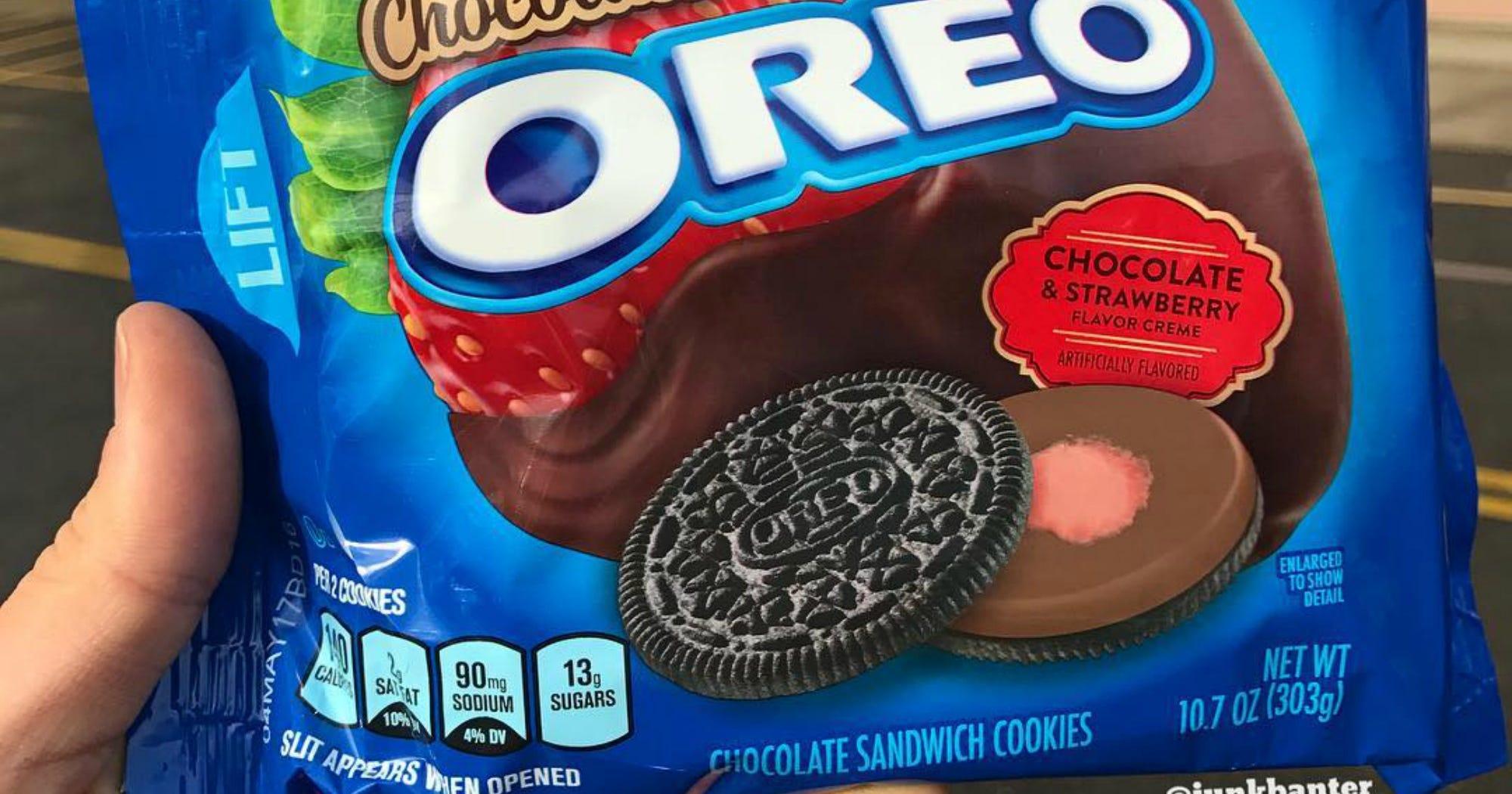 Chocolate Strawberry Oreos New Oreo Flavor